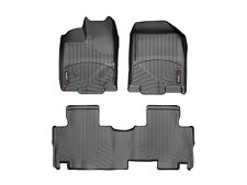 WeatherTech FloorLiner Mats- Ford Edge '11-'14 / Lincoln MKX '11-'15 - Black
