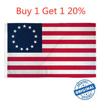 3x5 FT POLYESTER US AMERICAN BETSY ROSS 13 STAR USA HISTORIC FLAG 20% OFF