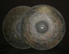 "Dream DMHH15 15"" DARK MATTER Hi Hats PAIR, 1358g/1562g - NEW, Video Example!"