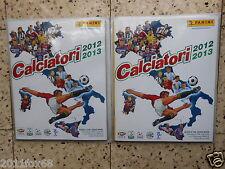 Album figurine panini calciatori 2012-2013 Serie A-B C1 C2 D+Serie A Femminile