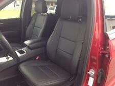 2011 2019 Jeep Grand Cherokee Laredo Black Katzkin Leather Seat Covers Kit New