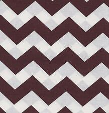 QUILT FABRIC:TONAL 100% COTTON, LARGE CHEVRON  BROWN, LC-01, By The Yard