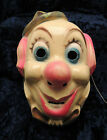 Vintage Clown Mask for Halloween made in Hong Kong