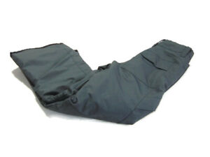 Boulder Gear Pants Gray Insulated Ventilated Waterproof Ski Snow Cargo Boys L