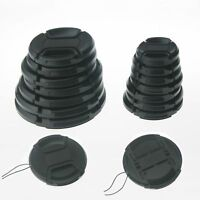 10pcs 58mm Snap On Front Lens Cap Cover Center Pinch For Canon EOS Digital
