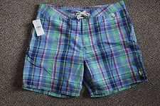 POLO RALPH LAUREN SHORTS PALM ISLAND TRUNK SIZE 32 BNWT 0820