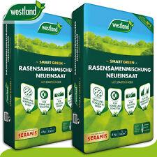 Westland 2 x 4 kg Smart Green Rasensamenmischung Neueinsaat »Englands Nummer 1«