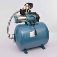 100 L Hauswasserwerk Gartenpumpe 1300 INOX Hauswasserautomat Trockenlaufschutz