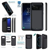Samsung Galaxy S8/S8 Edge Plus Extended Battery Backup Power Charger Juice Cover