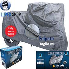 1 TELO COPRIMOTO SCOOTER FELPATO SAGOMATO tg M 203x89x122cm 250gr MQ MOTO
