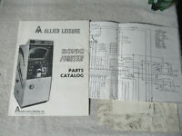 SONIC FIGHTER  allied leisure  arcade game manual