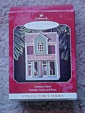 Hallmark Christmas Ornament Grocery Store Nostalgic Houses & Shops