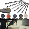 Masonary Drill Bits Stone Brick Block Wall Drills Bit Heavy Duty Raw Plug Trade
