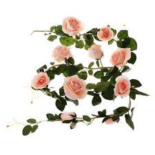 Premium Rose Wedding Decoration Favor 180cm Large Artificial Flowers Pink