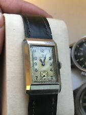 Omega Tank Art Deco Wrist Watch T17 Immaculate Condition