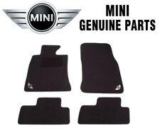 NEW Mini Cooper Convertible 2009-2011 Set of Four Black Carpet Floormats Genuine