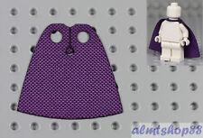 LEGO - Minifigure Cloth Cape Purple - Custom Fabric Robe Harry Potter Cloak Jedi