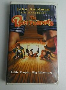 The Borrowers (VHS, 1998) John Goodman Tom Felton Flora Newbigin Jim Broadbent