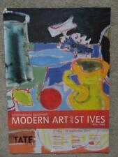Poster For The Modern Art & St Ives Exhibition At The Tate St.Ives