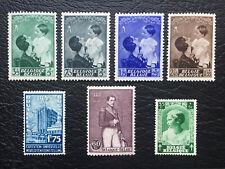 Briefmarken Belgien Königin Astrid, u.a./ Postfrisch