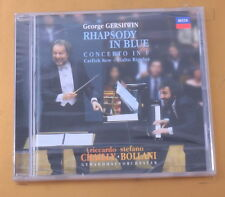 GERSHWIN - RAPSODY IN BLUE - CHAILLY - BOLLANI  2010 - OTTIMO CD [AA-028]