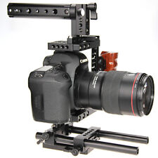 Universal DSLR Camera Cage Kit for Canon 60D 5D MarkII Nikon D7100 Sony GH4 GH3