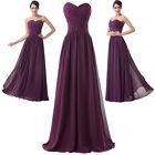 violet longue robe du soir Robe de Cocktail robes de bal fête taille:3 2/34/36/