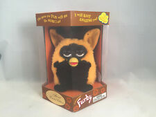 First Run Autumn Witch Furby Black & Orange with Witches Hat  ABSOLUTELY MINT!