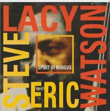 STEVE LACY  ERIC WATSON   CD  SPIRIT OF MINGUS