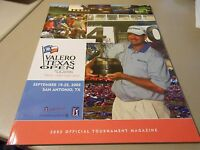 Official 2005 Valero Texas Open at LaCantera Golf Tournament Magazine