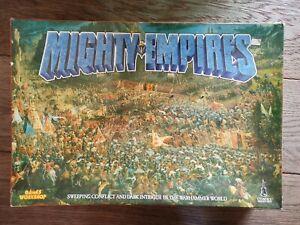 Vintage Games Workshop Mighty Empires. Incomplete. Includes all 150 models.