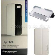 New RIM Blackberry Z10 OEM Flip Shell Carrying Case Stand White