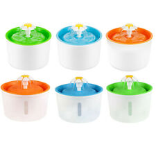 Automatic Cat Dog Water Drinking Fountain Pet Bowl Drink Dish Feeder