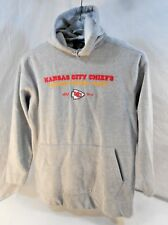 Men's Hoodie  Kansas City Chiefs Size M Lettering and Logo are Embroidered