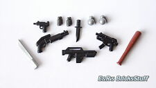 Brickarms gangster waffenset, Custom ARMI PER PERSONAGGI LEGO ®