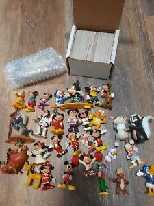 Disney Vintage Toy Lot + 1994 Skybox The Lion King Trading Cards Lot 3 sets