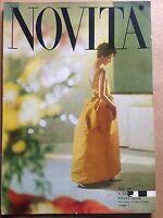 Rivista Magazine - Novità -  n.130 Agosto 1961  Moda eleganza