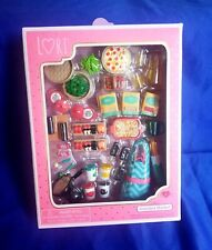Lori GOURMET MARKET Set New in box by Maison Battat for Lori Dolls