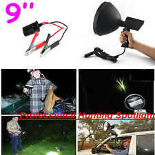 9'' 100W Halogen Marine Light Handheld Hunting Boating Camping Spotlight Lamp