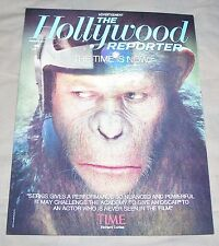 Rise Planet of the Apes Hollywood Reporter Lenticular Promo Ad Andy Serkis