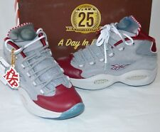 b9eea4e60af4 New Reebok Pump Question Villa 25th A Day in Philly Flat Grey Steel Burgandy
