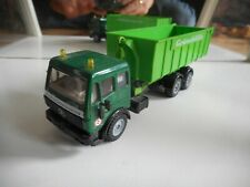 """Siku Mercedes Container Truck """"v.d. Stoel Containerservice"""" in Green"""