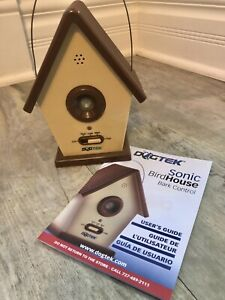Dogtek Sonic Birdhouse Bark Control for Indoor and Outdoor Use