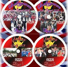 APS Marching Band DVDS 2 Double DVD Sets of Royal Black Parades 2019