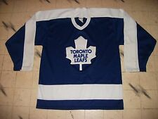 VINTAGE TORONTO MAPLE LEAFS CCM / MASKA HOCKEY JERSEY MENS SIZE MEDIUM-42 NICE !