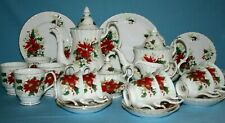 "Royal Albert ""STELLA DI NATALE"" Set Da Tè di Natale da Tavola-inglese BONE CHINA."