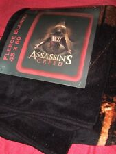 """Assassins Creed Video Game Aguilar Character 45""""X60""""  Plush Fleece Throw Blanket"""