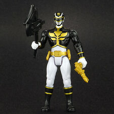 "Power Rangers Megaforce Black Ranger 4"" Action Figure Bandai"