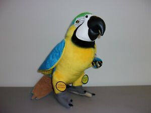 Discovery Channel Wild Life Plush Talking Parrot