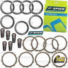 Apico Clutch Kit Steel Friction Plates & Springs For Suzuki RMZ 250 2007 MotoX